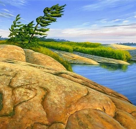 M Swanson Artist Wind Swept